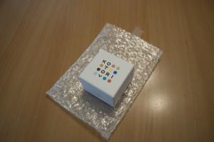 可愛らしい箱。